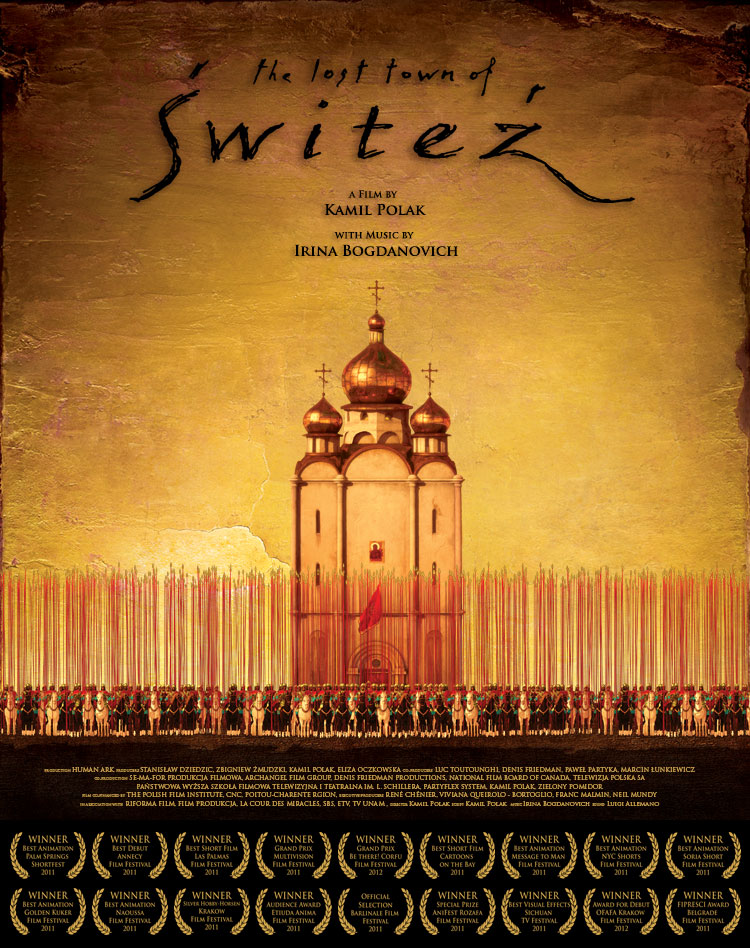 The Lost Town of Switez. A film by Kamil Polak with music by Irina Bogdanovich.